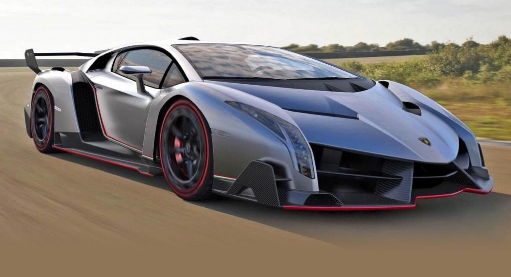 2.) Lamborghini Veneno ($4.5M)