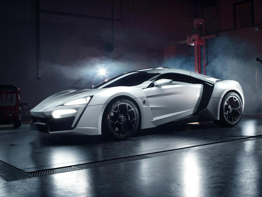 3.) W Motors Lykan Hypersport ($3.4M)